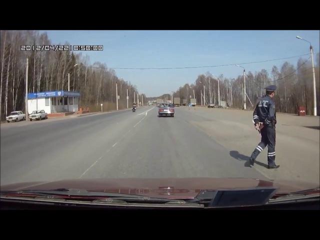 ДПС и мотоциклист уфф 2016 г Орёл