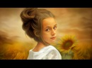 Oil painting with masking effect in photoshop cc