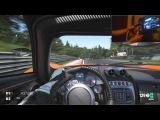 Project C.A.R.S. Free run Nurburgring-Pagani Huayra (60FPS+steering cam)