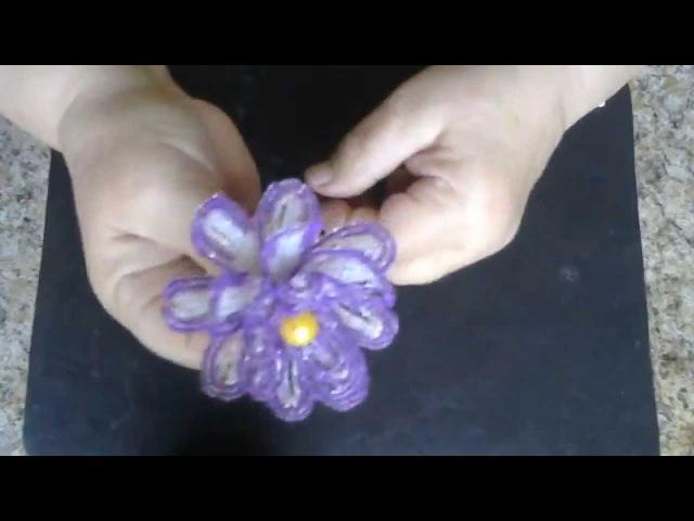 Водяная лилия из бисера Мастер класс Бисероплетение