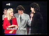 SAKIS ROUVAS 1st TV APPEARANCE @ ROULA'S KOROMILA SHOW - 3 NICOS TERZIS' SONGS + INTERVIEW