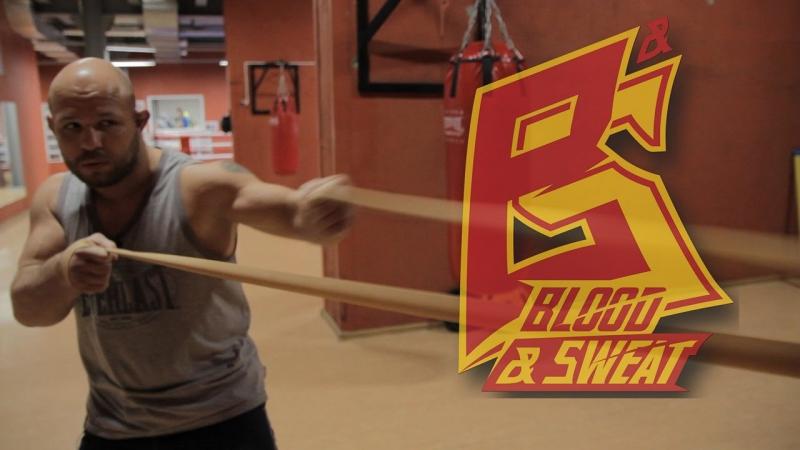 Упражнения с резиной на выносливость и технику ударов.Техника бокса.