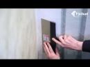 Монтаж Фрески на стену. Видео история объекта Стройтрест № 1