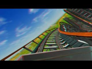 Roller Coaste (3д анаглиф)
