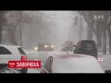 Резкая смена погоды в Киеве: после внезапной метели в небе засияло солнце