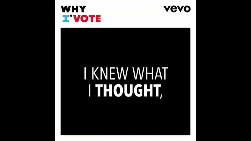 What happened when @bridgitmendler voted for the first time?