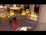 Miraculous LadyBug/ЛедиБаг и Кот Нуар - 1 сезон 5 серия (озвучка: Disney) HD
