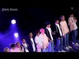 FANCAM 170212 Seventeen  - Adore U + Ending Ment @ 1st Fanmeeting 'Seventeen In Carat Land' D-3