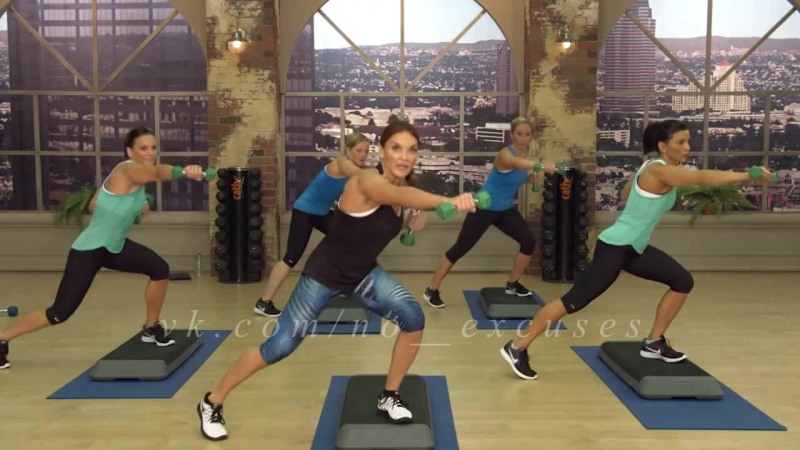 Strong and Sweaty - Cardio slam - Cathe Friedrich