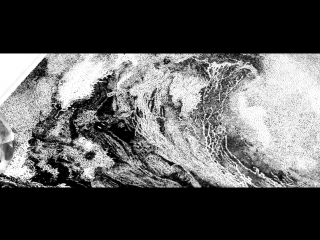Яна Стамо. Техника пуантель (точками). №2 Волна, формат А3