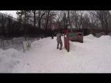 турнир по спрот пейнтболу три на три зимой пейнтбольный клуб скорпион 12