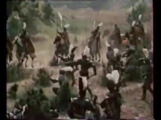Анонсы (СТС, апрель 1998) Американская трагедия, Отель, Новые приключения Янки при дворе короля Артура, День Шакала
