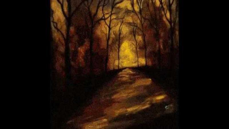 Картины, которые оживают с наступлением темноты.