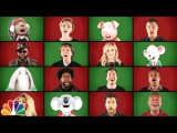 Jimmy Fallon, Paul McCartney, Matthew McConaughey, Reese Witherspoon, Scarlett Johansson, etc. - Wonderful Christmas time (A Cappella)