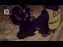 Буйного нарушителя порядка долго не могли скрутить полицейские