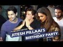 Filmfare Editor Jitesh Pillaai's GRAND Birthday Bash Shahrukh Khan Deepika Ranveer Singh