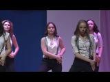 Мисс Вольгинский 2017 Танцевальная студия Аквамарин На лабутенах