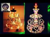 HOW TO: make diya stand (diya stand decoration)