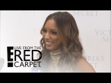 Jasmine Tookes Got Fantasy Bra Advice From Who? | E! Live from the Red Carpet
