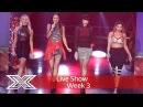 Four of Diamonds hit the high notes with a diva mash-up | Live Shows Week 3 The X Factor UK 2016