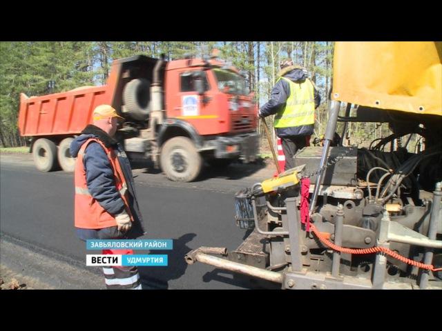 В Удмуртии начали ремонт дорог «картами»