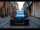 2017 Audi S8 Plus 605hp black on black details launch control interior exterior