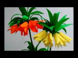 Paper Flowers Fritillaria Imperialis Crown Imperial (flower # 89)
