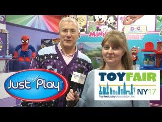 Toy Fair 2017: Just Play's Mickey Minnie, PJ Masks, Spider-Man. New reveals!