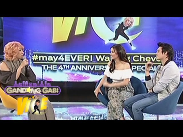 Enrique, Liza and their first impression to each other