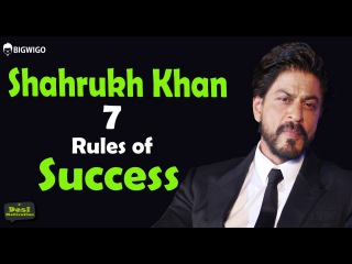 Shahrukh Khan 7 Rules of Success inspirational speech | Motivational Hindi Interview