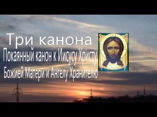 Три канона Покаянный канон к Иисусу Христу, Божией Матери и Ангелу Хранителю Мол...