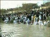 Поворот реки Иордан вспять на Крещение