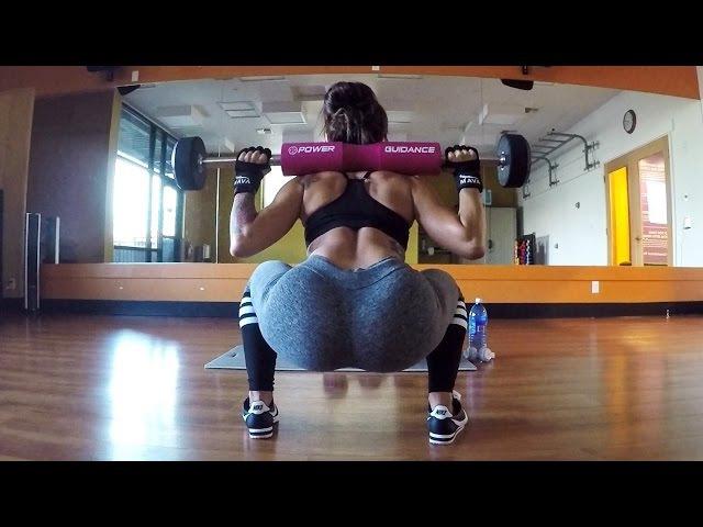 Kissa Sins Glute Workout || SinsTV: Fitness Journey