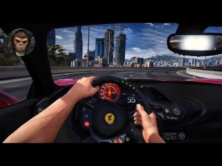 ► GTA 6 Graphics - ✪ REDUX - FIRST PERSON NIGHT Ferrari 488 GTB - Gameplay! 60 FPS