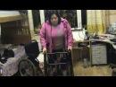 Татьяна Волкова встала с инвалидного кресла после и вновь начала ходить
