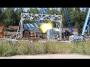 Испытание пушки Т-50 / Test of cannon for T-50 PAK FA