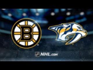 NHL | НХЛ | Хоккей | Обзор Матча Нэшвилл - Бостон