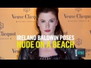 Ireland Baldwin Loses Her Balance and Has a Nip Slip After a Night of Partying