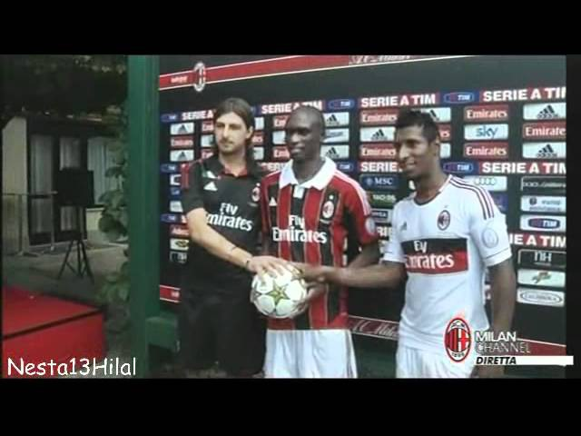 Acerbi - Traore - Constant In Milanello for first time - First day in Milanello 9-7-2012