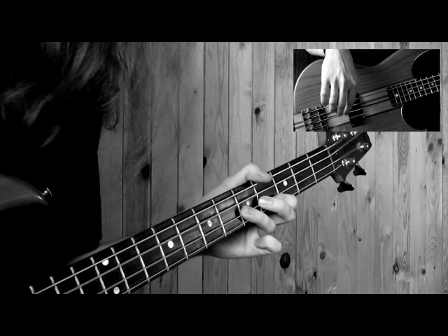 Black Sabbath - Black Sabbath (tribute Bass cover) aria pro II sb-1000