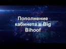 Пополнение кабинета в проекте Big Bihoof