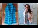 Вяжем стильный жилет спицами Stylish waistcoat with knitting needles