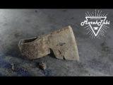 Very Rusty Old Axe Restoration