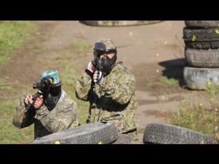 Пейнтбольные маневры S.T.A.L.K.E.R., Пейнтбол в Омске HD