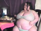 Ssbbw Huge n Hot after stuffing