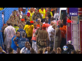 На карнавале в Рио-де-Жанейро пострадали порядка 20 человек