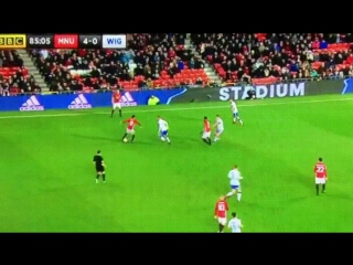 Martial link-up play with Mata🔥