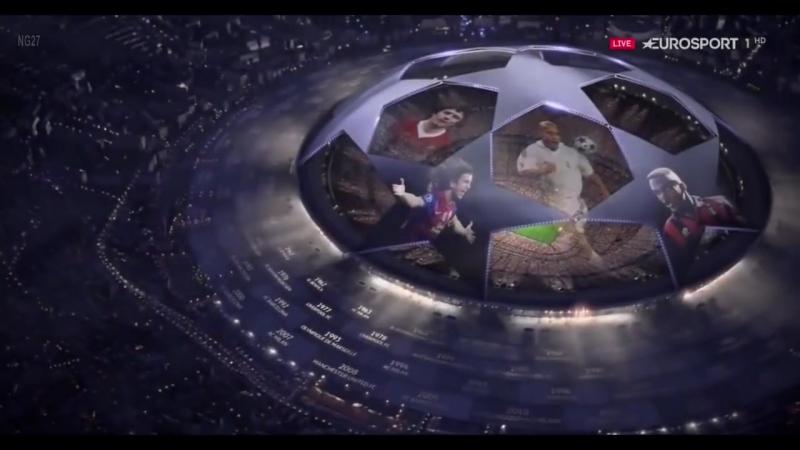 Заставка Лиги Чемпионов 2016 17