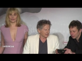 Roman Polanski and Emmanuelle Seigner at Venus In Fur Press Conference on May 25, 2013 in Cannes, France(2)