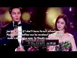 Joo Won Kim Tae Hee Sweet Moments Part 1 @ 2015 SBS Drama Awards ❤️